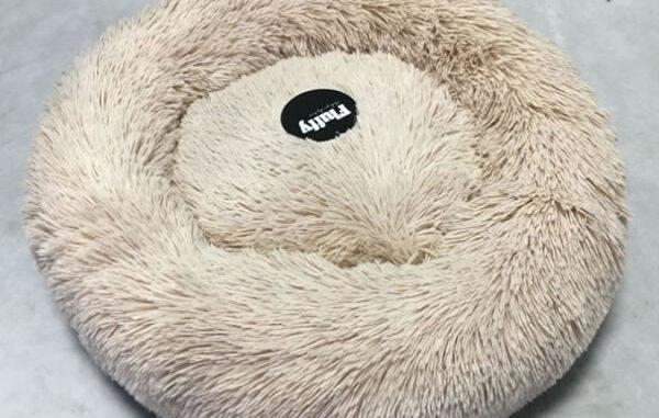 fluffy donut hundeseng